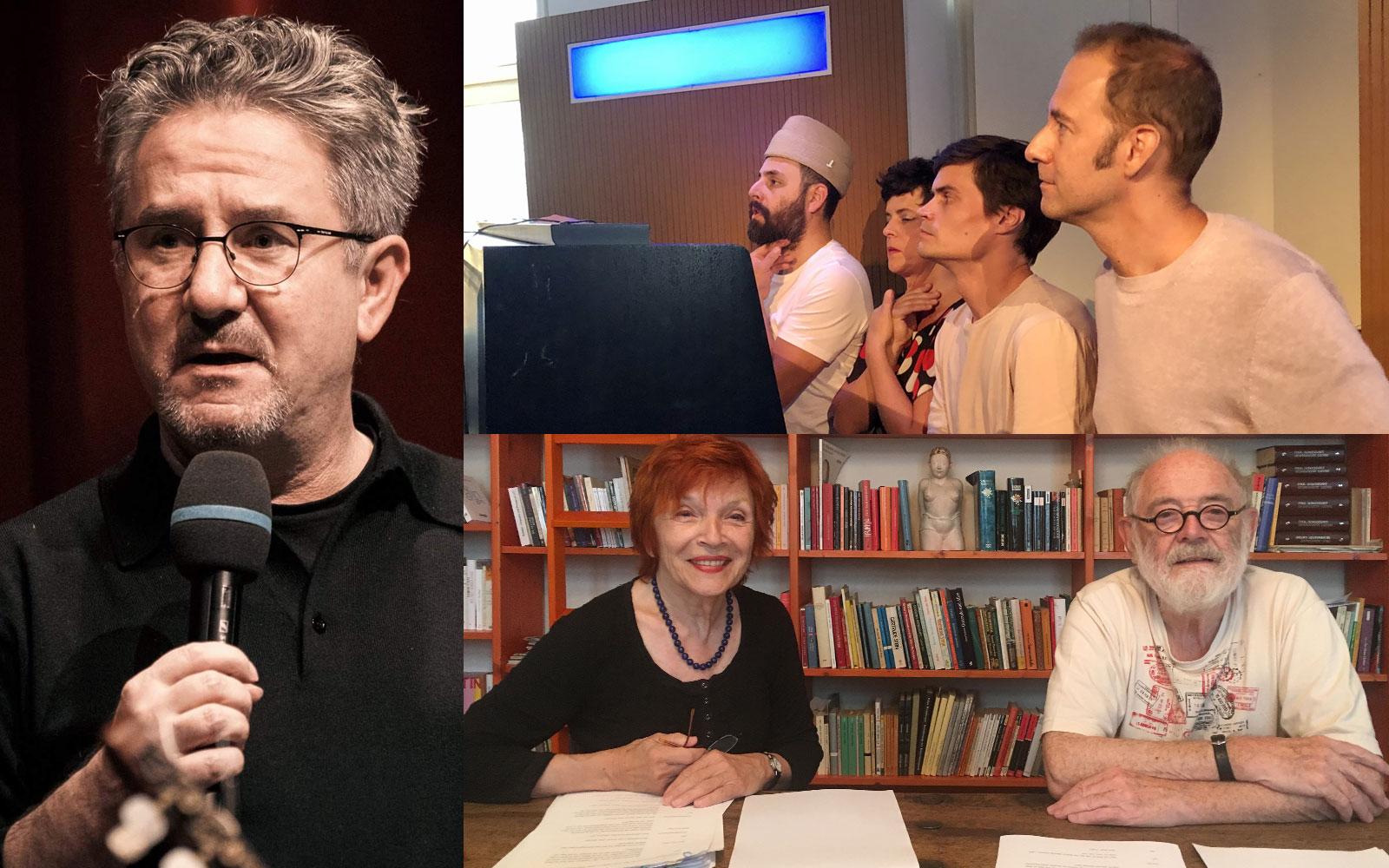 Helmut Jasbar, Donauwellenreiter, Christa und Kurt Schwertsik