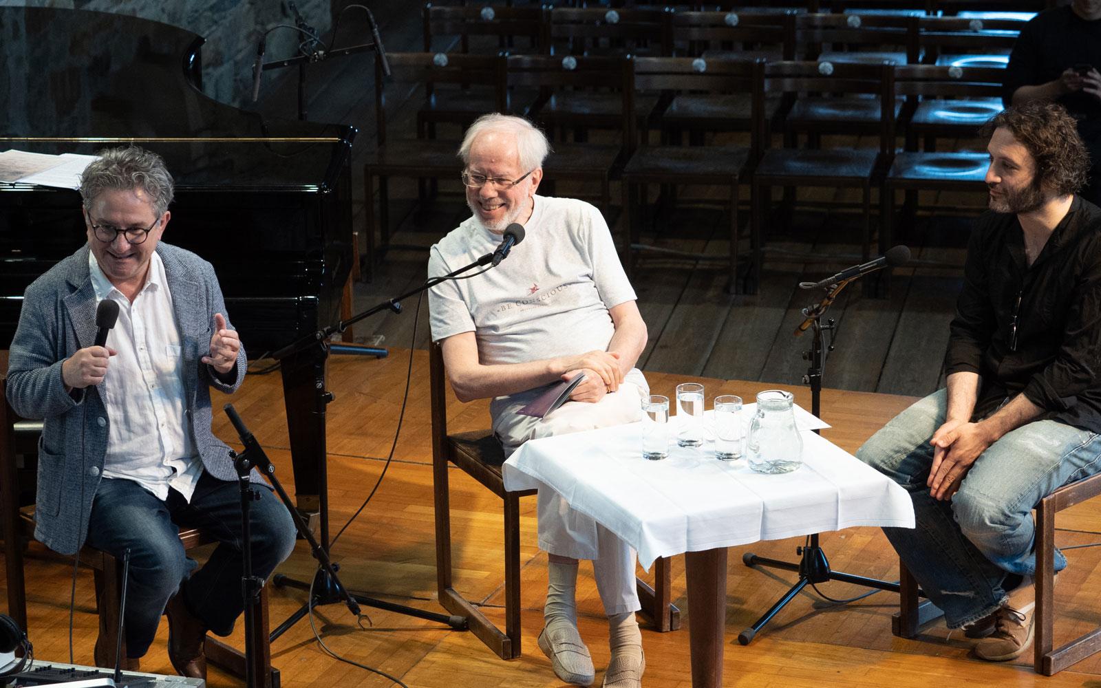 Helmut Jasbar, Gidon Kremer and Nicolas Altstaedt